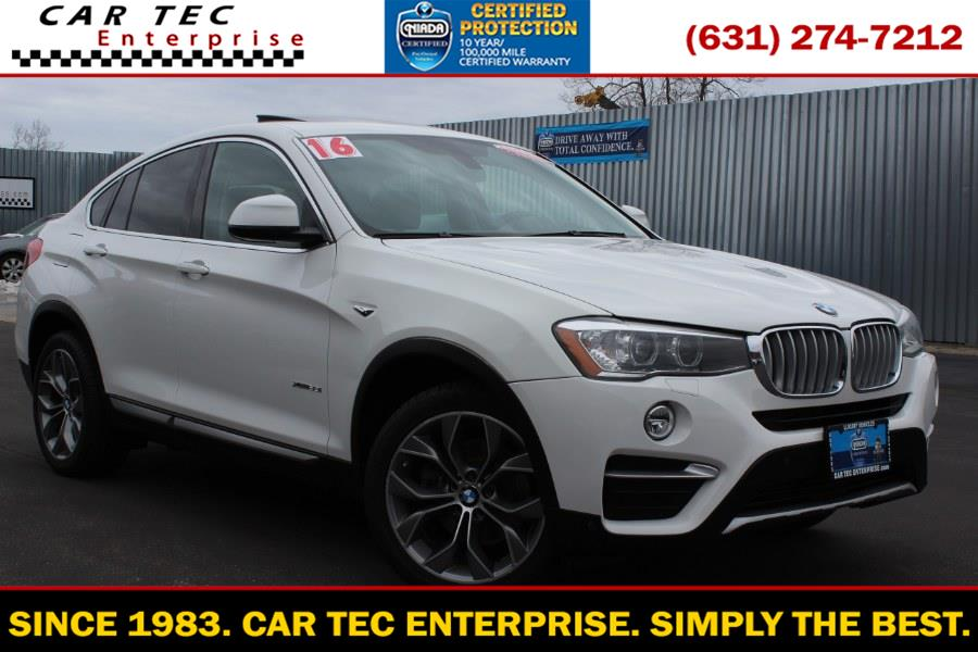 Used 2016 BMW X4 in Deer Park, New York | Car Tec Enterprise Leasing & Sales LLC. Deer Park, New York