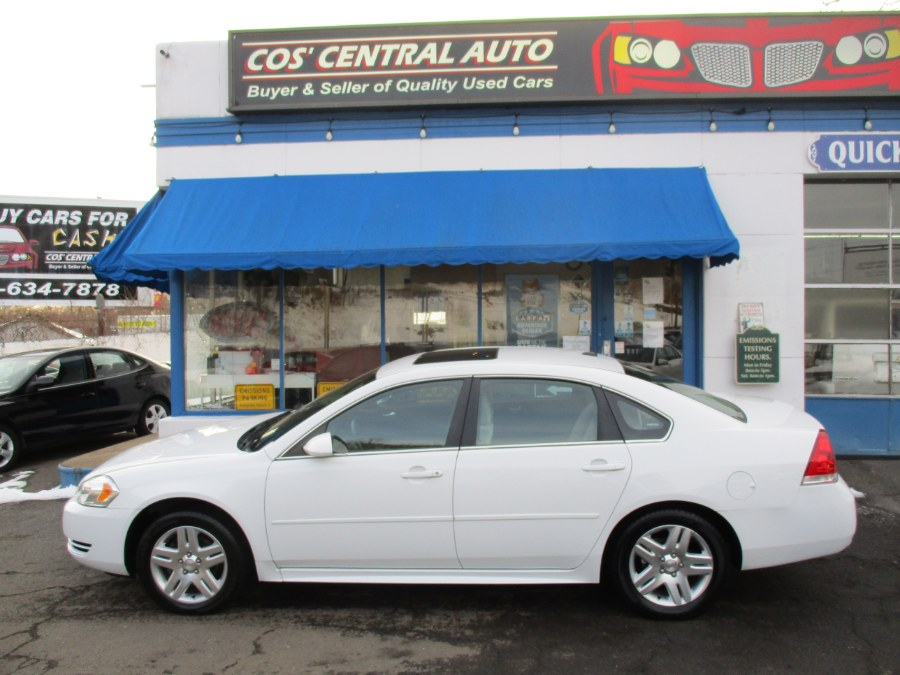 Used Chevrolet Impala Limited 4dr Sdn LT Fleet 2014 | Cos Central Auto. Meriden, Connecticut