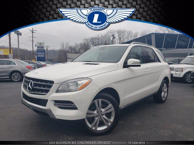 Used 2014 Mercedes-benz M-class in Cincinnati, Ohio | Luxury Motor Car Company. Cincinnati, Ohio