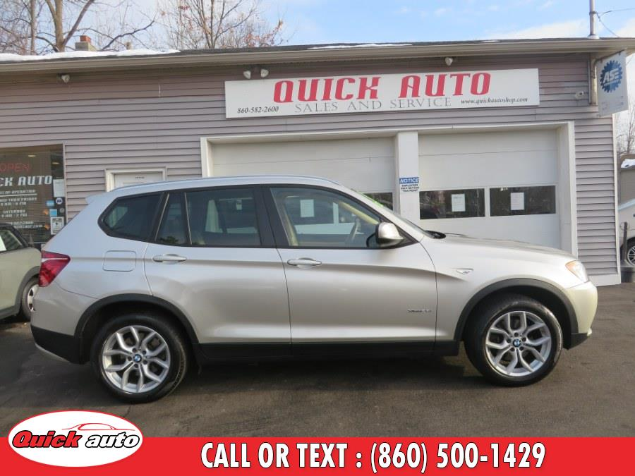 Used BMW X3 AWD 4dr xDrive28i 2013 | Quick Auto LLC. Bristol, Connecticut