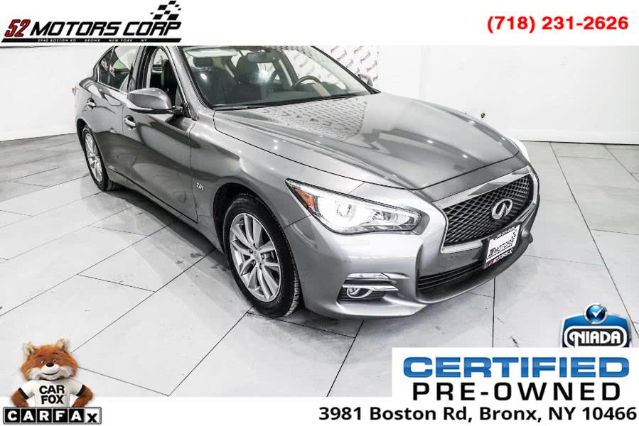 Used 2017 INFINITI Q50 in Woodside, New York | 52Motors Corp. Woodside, New York