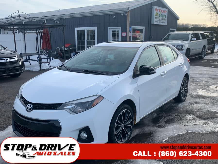 Used 2015 Toyota Corolla in East Windsor, Connecticut | Stop & Drive Auto Sales. East Windsor, Connecticut