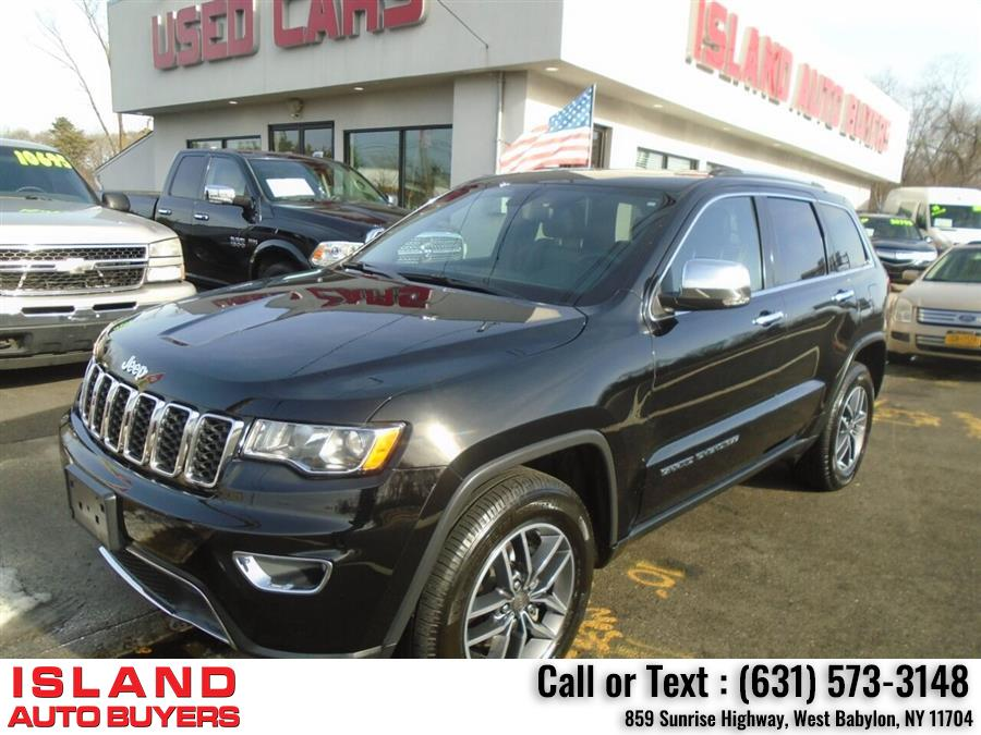 Used Jeep Grand Cherokee Limited 4x4 4dr SUV 2019 | Island Auto Buyers. West Babylon, New York