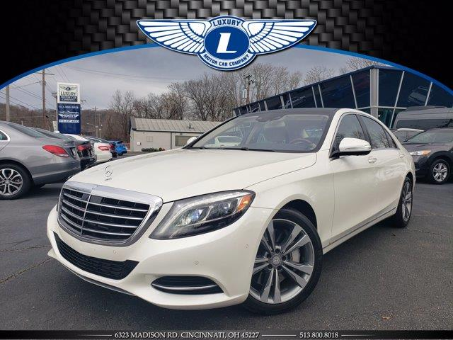 Used 2014 Mercedes-benz S-class in Cincinnati, Ohio | Luxury Motor Car Company. Cincinnati, Ohio