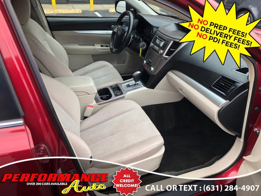 Used Subaru Outback 4dr Wgn H4 Auto 2.5i Premium PZEV 2013   Performance Auto Inc. Bohemia, New York