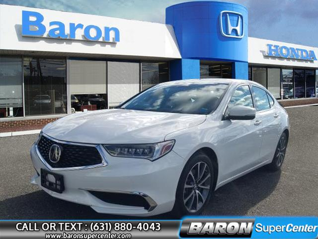 Used 2018 Acura Tlx in Patchogue, New York | Baron Supercenter. Patchogue, New York