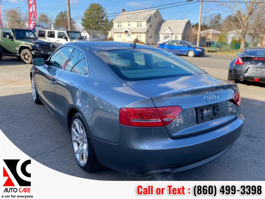Used Audi A5 2dr Cpe Auto quattro 2.0T Premium Plus 2012 | Auto Care Motors. Vernon , Connecticut