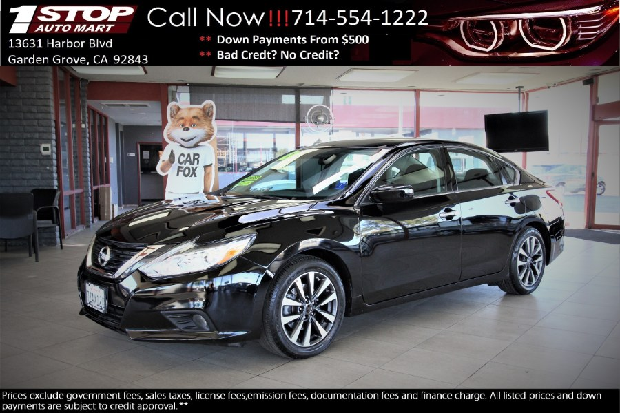Used Nissan Altima 2.5 SR Sedan 2017 | 1 Stop Auto Mart Inc.. Garden Grove, California