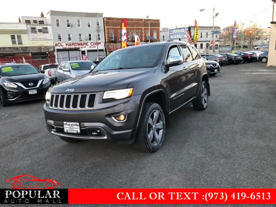 Used Jeep Grand Cherokee 4WD 4dr Overland 2014 | Popular Auto Mall Inc . Newark , New Jersey
