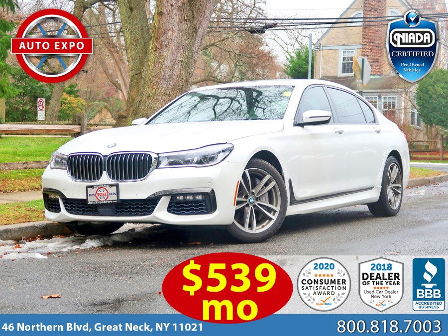 Used 2018 BMW 7 Series in Great Neck, New York | Auto Expo Ent Inc.. Great Neck, New York