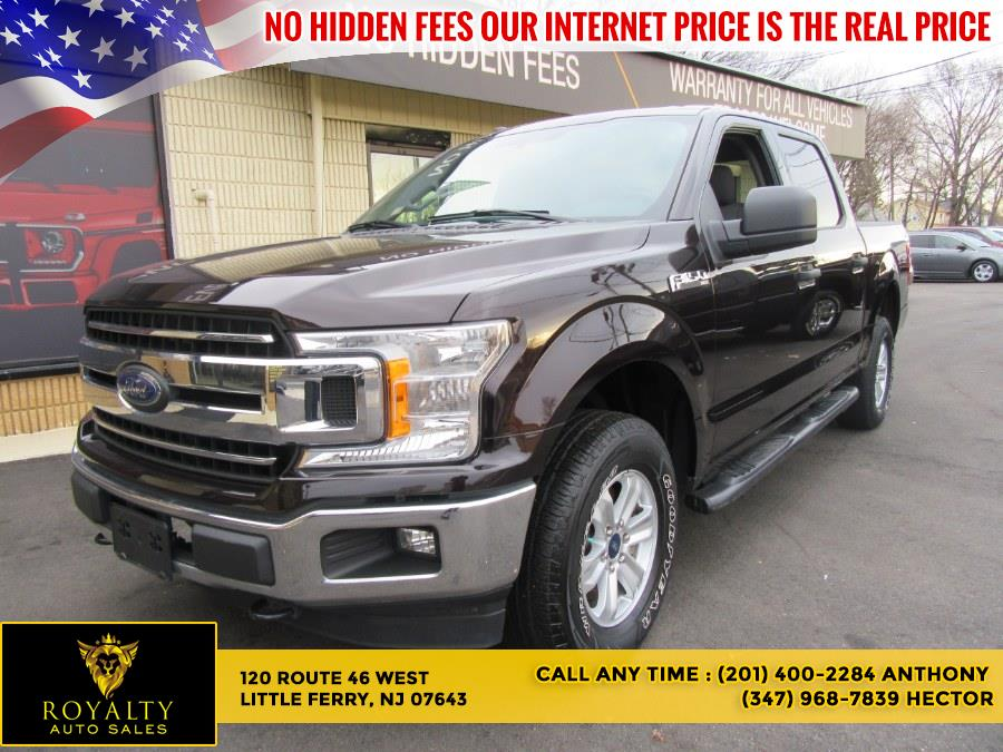 Used 2018 Ford F-150 in Little Ferry, New Jersey | Royalty Auto Sales. Little Ferry, New Jersey