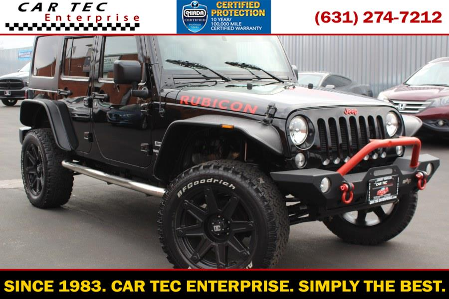 Used 2014 Jeep Wrangler Unlimited Rubicon in Deer Park, New York | Car Tec Enterprise Leasing & Sales LLC. Deer Park, New York