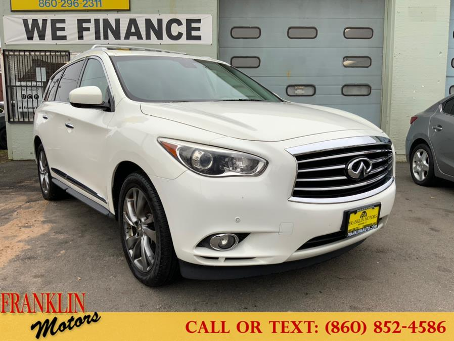 Used 2013 Infiniti JX35 in Hartford, Connecticut | Franklin Motors Auto Sales LLC. Hartford, Connecticut