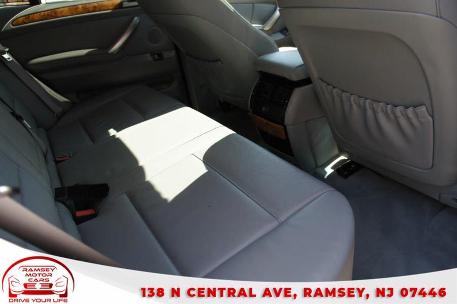Used BMW X5 X5 4dr AWD 3.0i 2003   Ramsey Motor Cars Inc. Ramsey, New Jersey