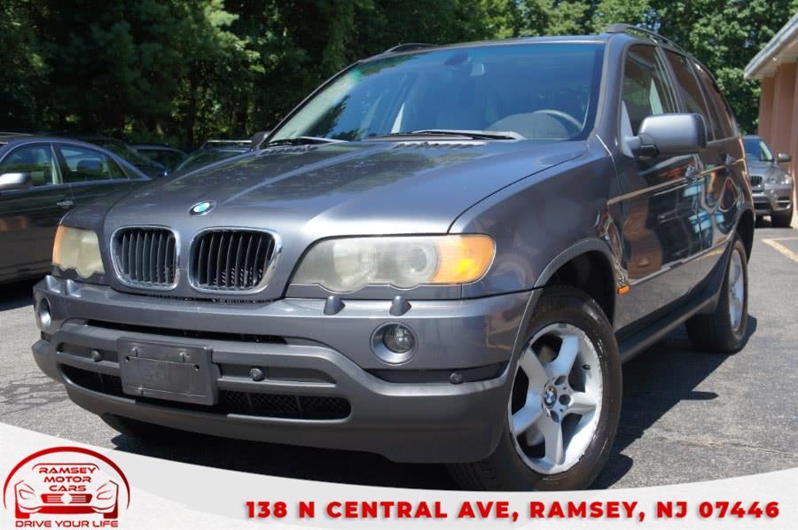 Used BMW X5 X5 4dr AWD 3.0i 2003 | Ramsey Motor Cars Inc. Ramsey, New Jersey