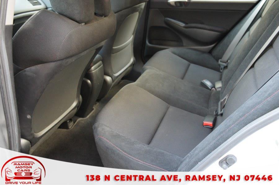 Used Honda Civic Sdn 4dr Man Si 2009 | Ramsey Motor Cars Inc. Ramsey, New Jersey