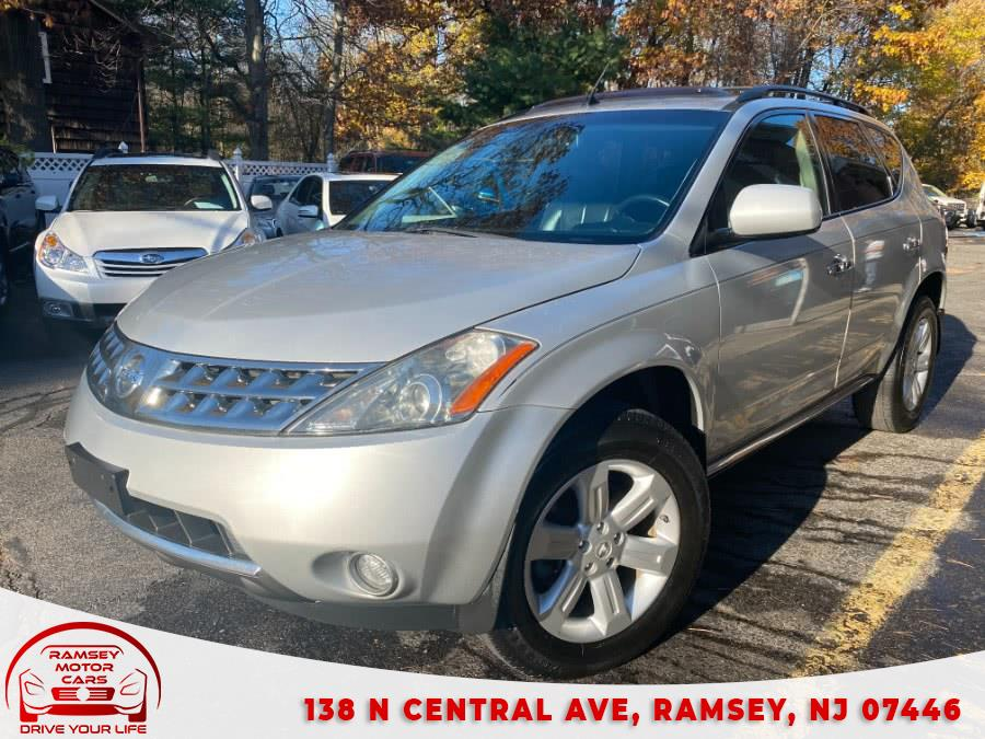 Used 2007 Nissan Murano in Ramsey, New Jersey | Ramsey Motor Cars Inc. Ramsey, New Jersey