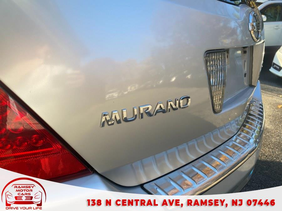 Used Nissan Murano AWD 4dr S 2007 | Ramsey Motor Cars Inc. Ramsey, New Jersey