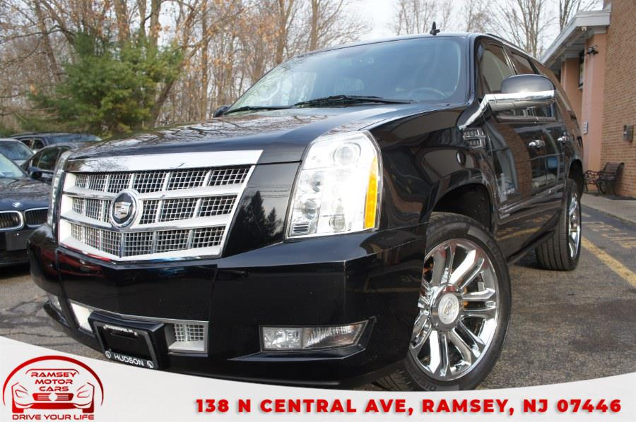 Used Cadillac Escalade AWD 4dr Platinum Edition 2012 | Ramsey Motor Cars Inc. Ramsey, New Jersey