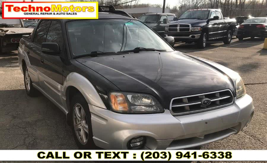 Used 2003 Subaru Baja in Danbury , Connecticut | Techno Motors . Danbury , Connecticut