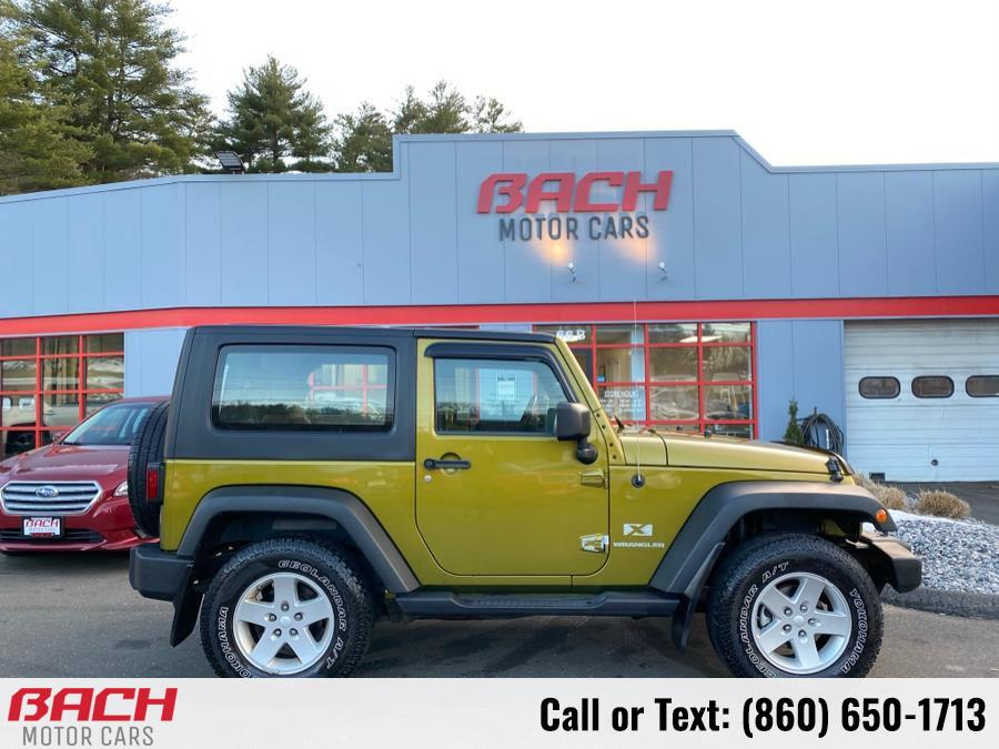 Used 2008 Jeep Wrangler in Canton , Connecticut | Bach Motor Cars. Canton , Connecticut