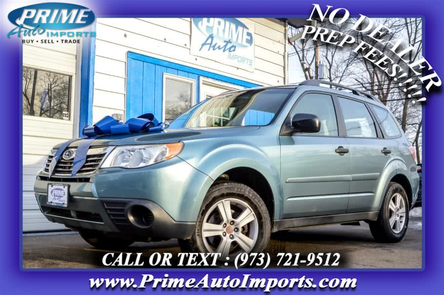 Used 2010 Subaru Forester in Bloomingdale, New Jersey | Prime Auto Imports. Bloomingdale, New Jersey