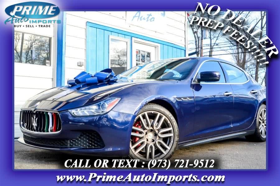 Used 2015 Maserati Ghibli in Bloomingdale, New Jersey | Prime Auto Imports. Bloomingdale, New Jersey