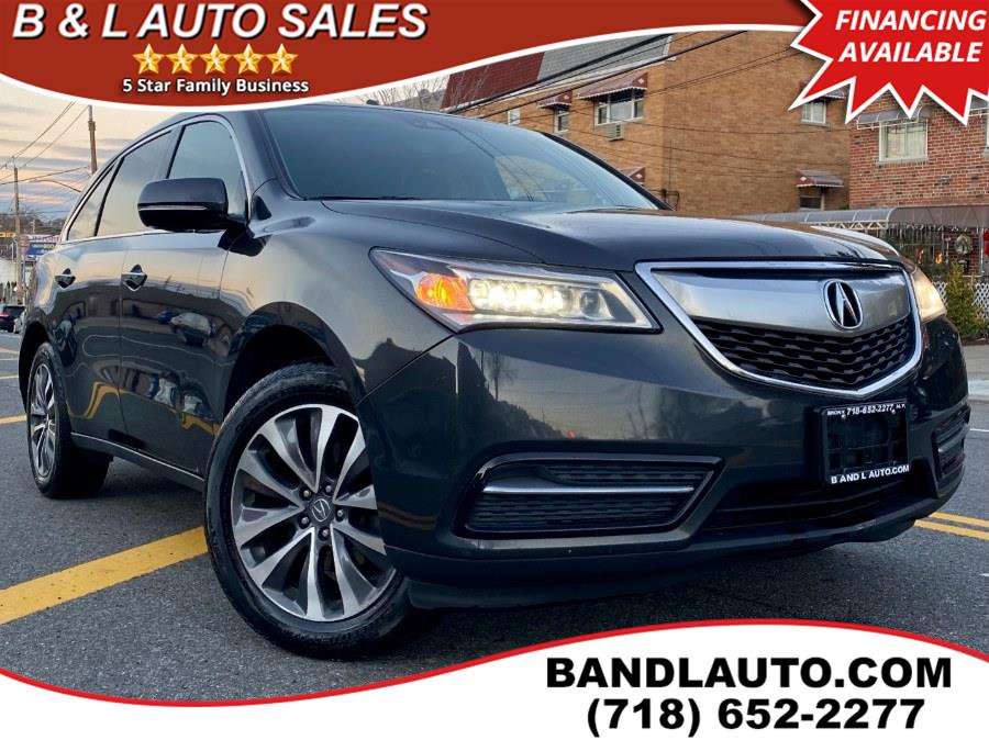 Used Acura MDX SH-AWD 4dr w/Tech/AcuraWatch Plus 2016 | B & L Auto Sales LLC. Bronx, New York