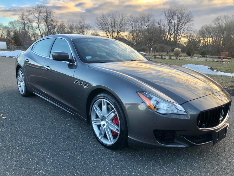 Used 2015 Maserati Quattroporte in Agawam, Massachusetts | Malkoon Motors. Agawam, Massachusetts