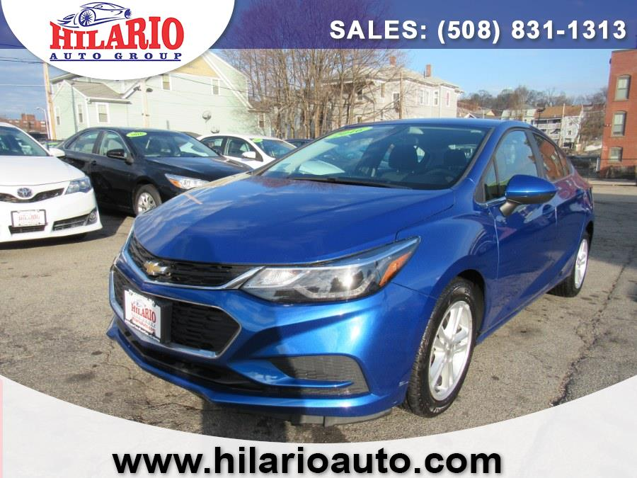 Used 2016 Chevrolet Cruze in Worcester, Massachusetts | Hilario's Auto Sales Inc.. Worcester, Massachusetts