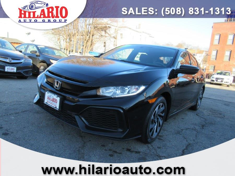 Used 2017 Honda Civic Hatchback in Worcester, Massachusetts | Hilario's Auto Sales Inc.. Worcester, Massachusetts