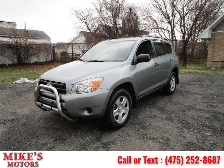 Used Toyota RAV4 4WD 4dr 4-cyl 4-Spd AT 2008 | Mike's Motors LLC. Stratford, Connecticut