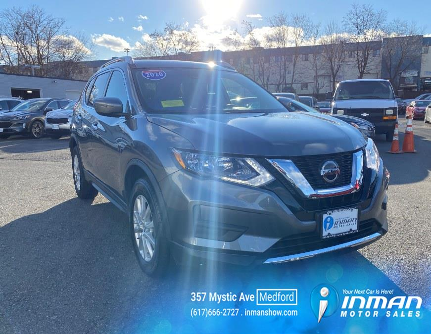 Used 2020 Nissan Rogue in Medford, Massachusetts | Inman Motors Sales. Medford, Massachusetts