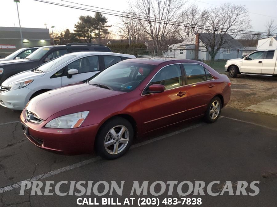 Used 2003 Honda Accord Sdn in Branford, Connecticut | Precision Motor Cars LLC. Branford, Connecticut