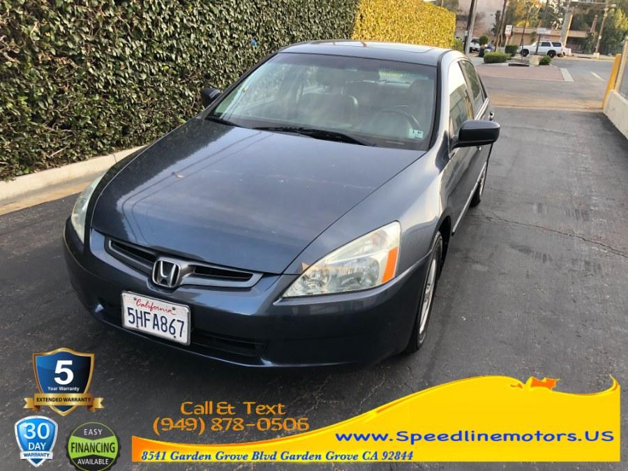 Used Honda Accord Sdn EX Auto 2003 | Speedline Motors. Garden Grove, California