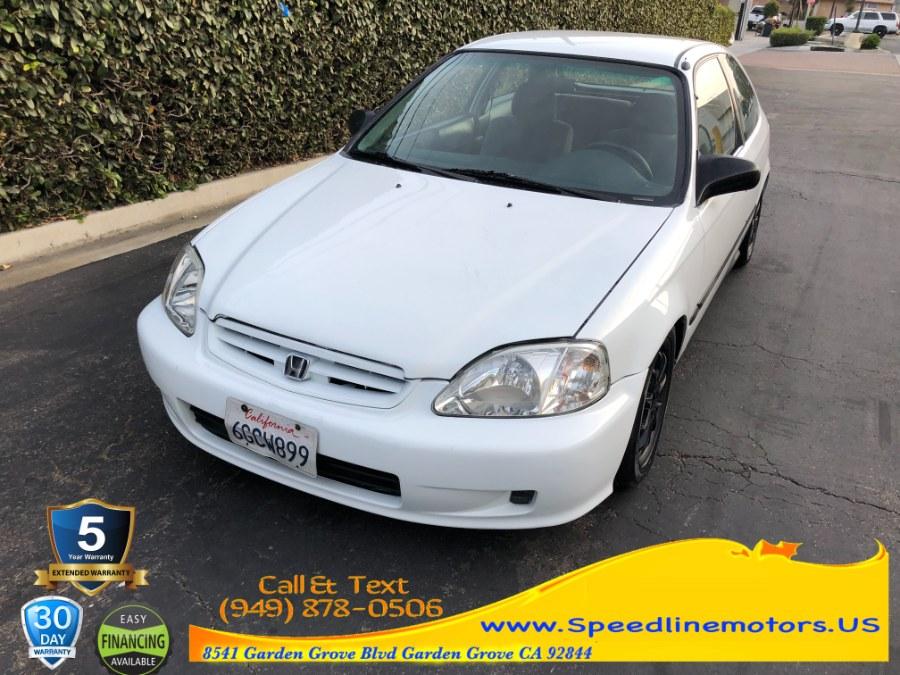 Used Honda Civic 3dr HB CX Manual 2000 | Speedline Motors. Garden Grove, California