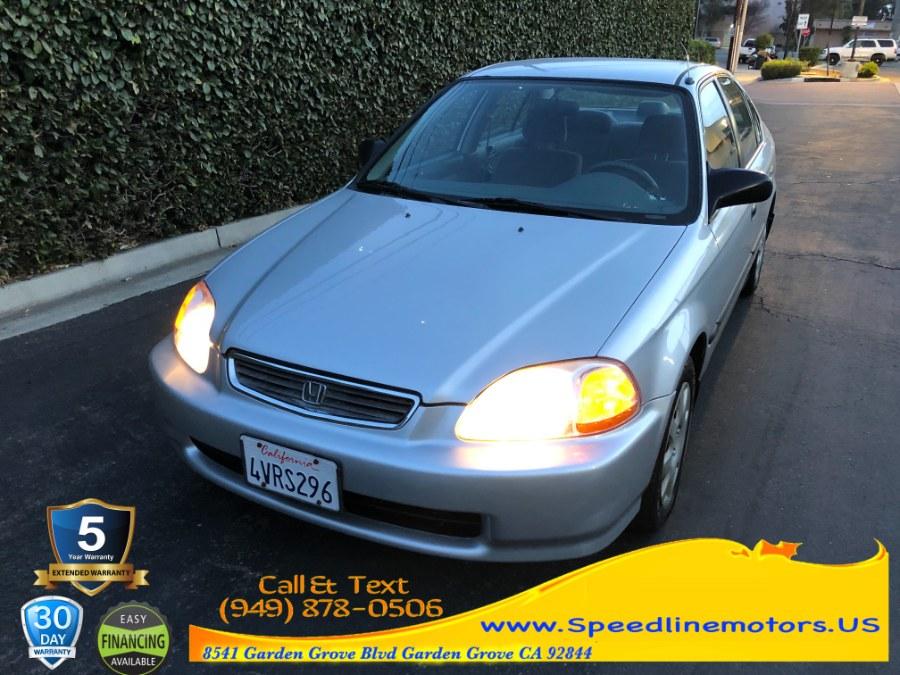 Used Honda Civic 4dr Sdn LX Auto 1998 | Speedline Motors. Garden Grove, California
