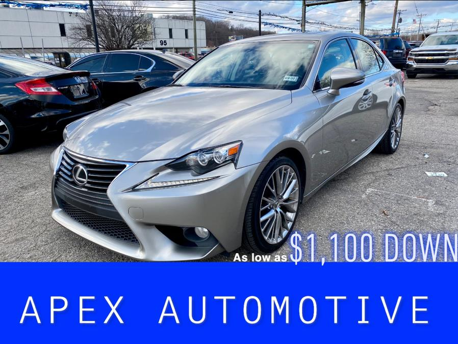 Used Lexus IS 250 4dr Sport Sdn Auto AWD 2014   Apex  Automotive. Waterbury, Connecticut