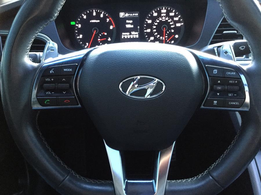 Used Hyundai Sonata Sport 2.0T w/Black 2017   L&S Automotive LLC. Plantsville, Connecticut
