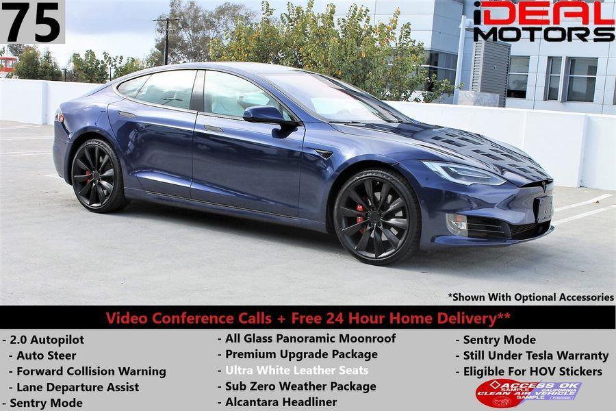 Used Tesla Model s 75 Sedan 4D 2017 | Ideal Motors. Costa Mesa, California
