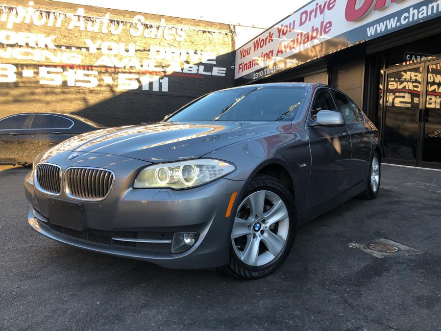 Used 2013 BMW 5 Series in Bronx, New York | Champion Auto Sales Of The Bronx. Bronx, New York