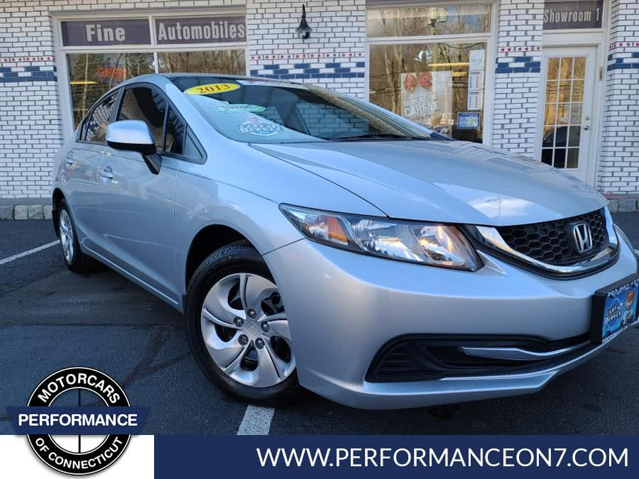 Used Honda Civic Sdn 4dr Auto LX 2013 | Performance Motor Cars. Wilton, Connecticut