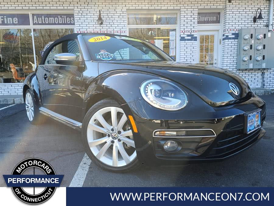 Used 2014 Volkswagen Beetle Convertible in Wilton, Connecticut | Performance Motor Cars. Wilton, Connecticut