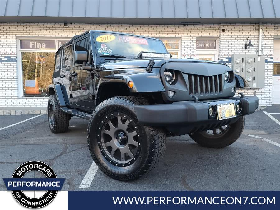 Used Jeep Wrangler Unlimited 4WD 4dr Sahara 2016 | Performance Motor Cars. Wilton, Connecticut