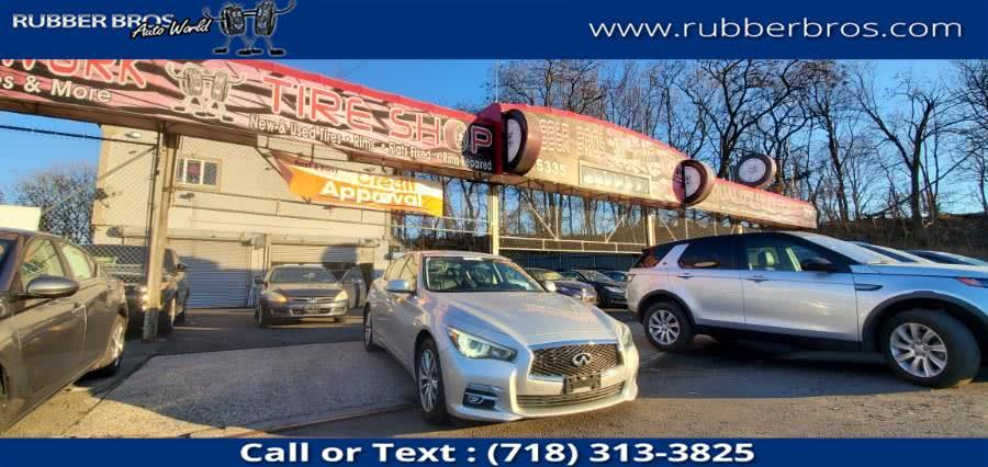 Used 2014 Infiniti Q50 in Brooklyn, New York | Rubber Bros Auto World. Brooklyn, New York