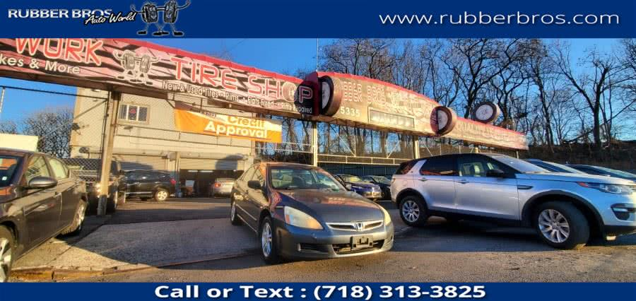 Used 2007 Honda Accord Sdn in Brooklyn, New York | Rubber Bros Auto World. Brooklyn, New York