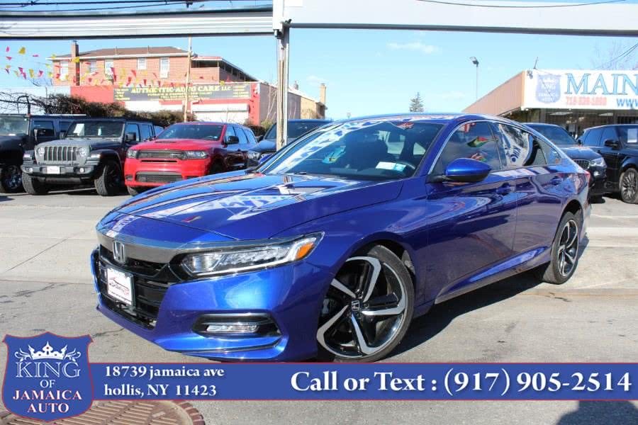 Used Honda Accord Sedan Sport 1.5T CVT 2019 | King of Jamaica Auto Inc. Hollis, New York