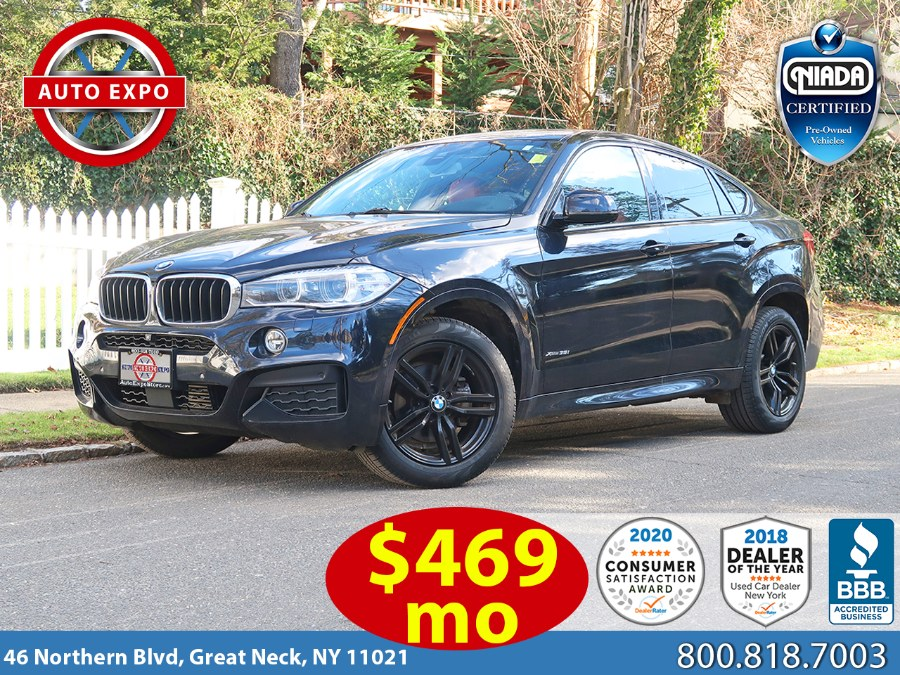 Used BMW X6 xDrive35i M Sport Package 2017 | Auto Expo Ent Inc.. Great Neck, New York