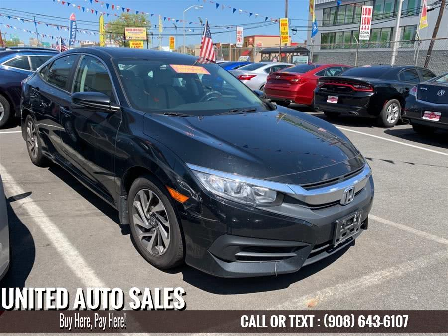 Used 2017 Honda Civic in Newark, New Jersey | United Auto Sale. Newark, New Jersey