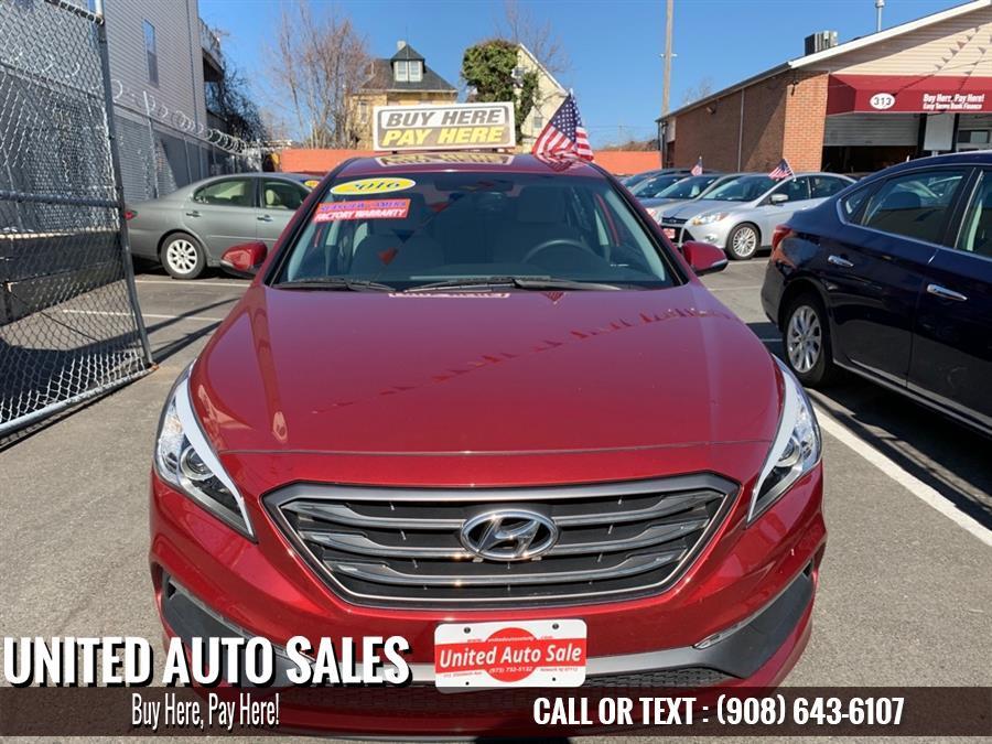 Used Hyundai Sonata SPORT 2016 | United Auto Sale. Newark, New Jersey